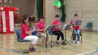 金沢クラリネットアンサンブル Kanazawa Clarinet Ensemble 2016年7月30...