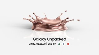 Galaxy Unpacked August 2020 [Livestream]  #tinhte