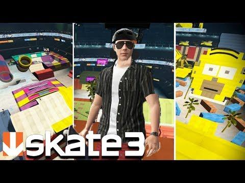 Skate 3: CUSTOM PARKS ARE BACK!