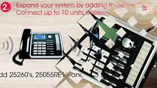 2-line Phone System
