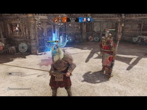 For Honor Brawls with my buddy