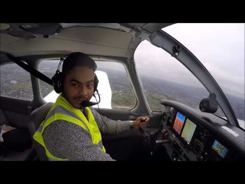 [HD]PA28 ✈ PPL Training - FIRST SOLO!