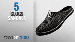 Top 5 Clogs Sandals [2018]: Lewhosy Unisex Women's Men's Garden Clog Shoes Sandals