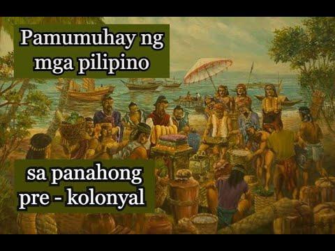 Download Ang pamumuhay ng mga Pilipino sa panahong ng pre - kolonyal