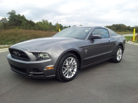 Sold 2013 Ford Mustang Coupe Pony Package Sterling Grey
