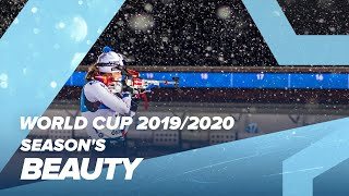 Biathlon in its purest form: slowmotions, details, tears and smiles, because disappointment joy are as close a shot on the edge of target. let the...