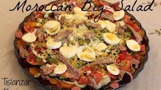 Moroccan Big Salad + Mayonnaise & Vinaigrette / Salade Marocaine + Mayonnaise Et Vinaigrette