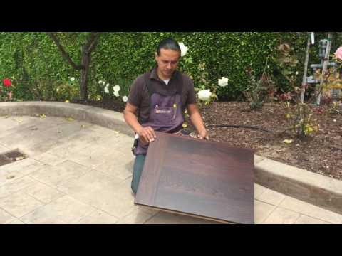 John Teng Learns About the  Exotic African Wood