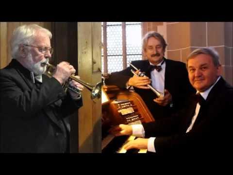 JD Heinichen Concerto for 2 Corni da caccia and Organ in F major, Guttler, Sandau