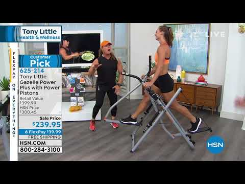 HSN | Tony Little Health & Fitness Featuring Gazelle 06.27.2019 - 08 PM
