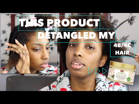 BEAUTY | This Product Fully Detangled My 4B/4C Fine Hair