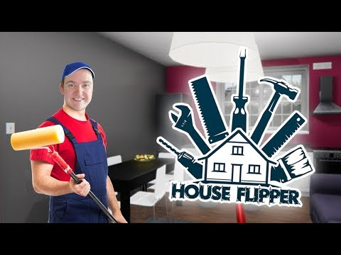 WHY DO YOU WANT THIS COLOUR?!  House Flipper  Ep.2