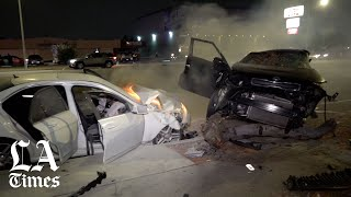 3 killed in Anaheim hit and run; suspect is later found