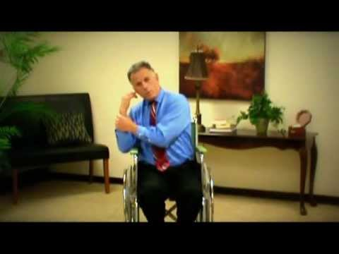 Wheelchair or chair stretches and exercises