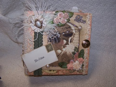 1920s Wedding Album - Le' Romantique by Graphic 45 Paper Designs - Vintage Wedding