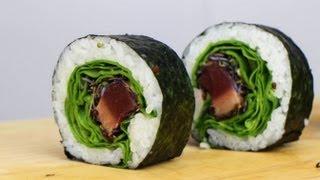 Seared Tuna Sushi Roll Recipe