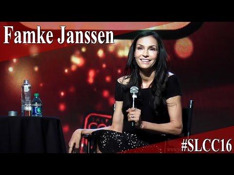 Famke Janssen - Full Panel/Q&A - SLCC 2016