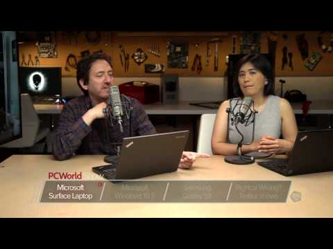 Surface Laptop, Windows 10 S, Samsung S8, and Twitter shows | PCWorld Show Ep 43