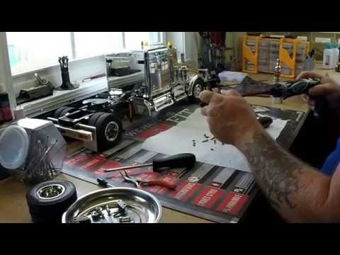 Tamiya King hauler how to lock rear axels