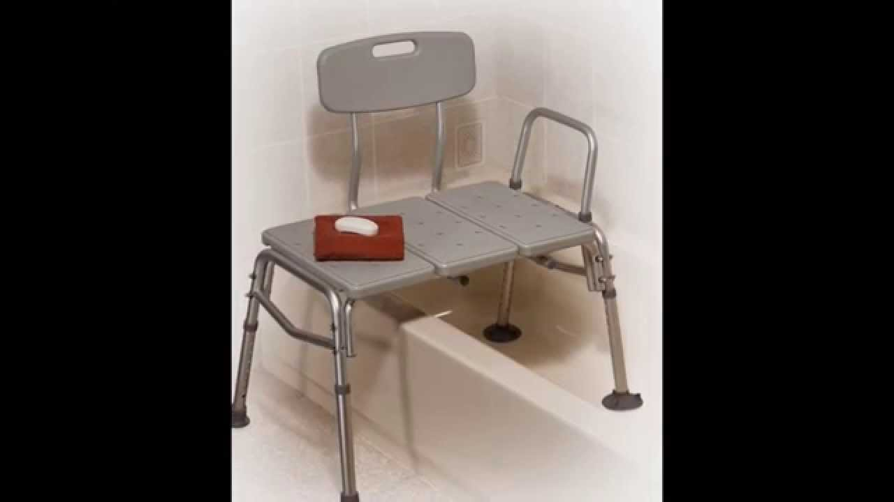 Shower transfer bench by pbstudiopro.com - YouTube