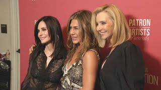 See the 'Friends' Reunion Backstage at the SAG-AFTRA Patron of the Artists Awards (Exclusive)