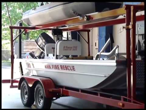 Brooklyn Park Rescue Boat