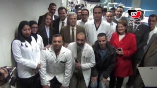 «نصار» يفتتح وحدة الاستقبال والطوارئ بكلية طب أسنان القاهرة