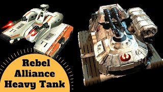 The HEAVY TANK of the Rebel Alliance- T3-B and T4-B Heavy Tank - Star Wars Rebels Vehicles