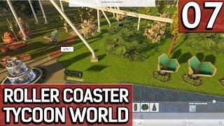 Roller Coaster Tycoon World BETA 1 #7 Und jetzt noch schön machen deutsch german HD