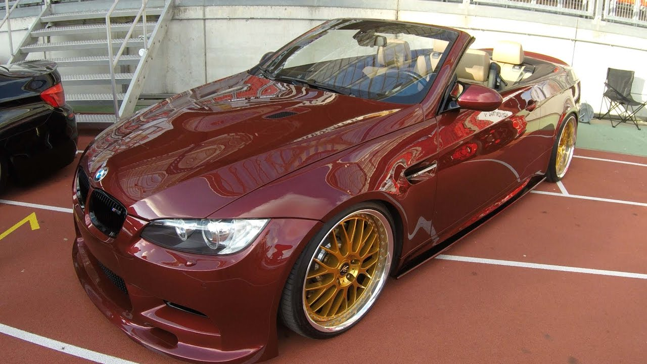 Bmw M3 E93 Cabriolet Compilation 2 Red Colours Nice