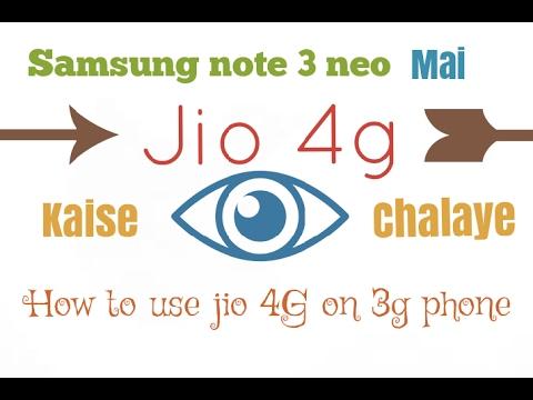 Samsung note 3 neo convert 3g to 4g