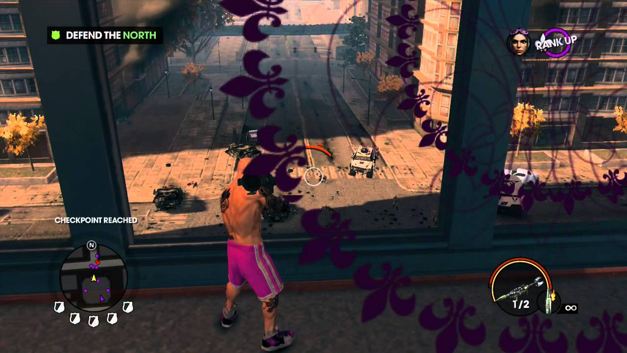 Party saints row stag