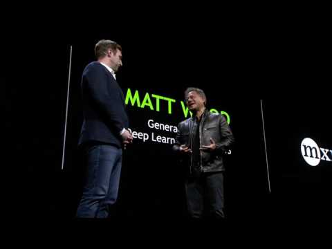 GTC 2017: Accelerating AWS (NVIDIA keynote part 8)