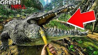 ATTAQUE DE CROCODILE ! | Green Hell #Ep4