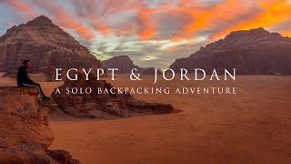 EGYPT & JORDAN: A Solo Backpacking Adventure - Trailer