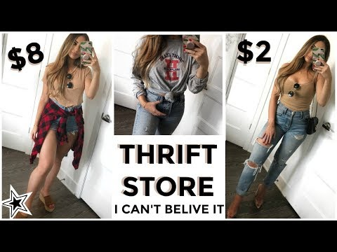 LOOK BOUGIE ON A BUDGET - THRIFT STORE EDITION