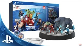 Disney Infinity: Marvel Super Heroes (2.0 Edition) Collector's Edition | PS4 & PS3