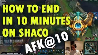 How to End in 10 Minutes on Shaco in Challenger ft. Midbeast, LGC Carbon