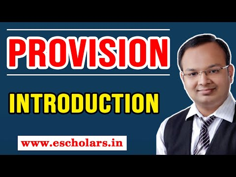What is Provision