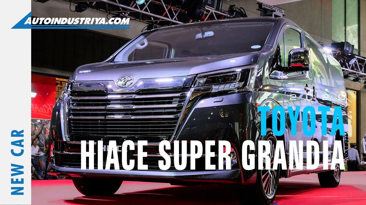 2020 Toyota Hiace Super Grandia New Car