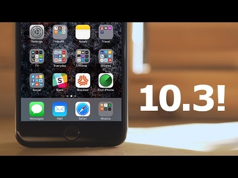 iOS 10.3 is Here!