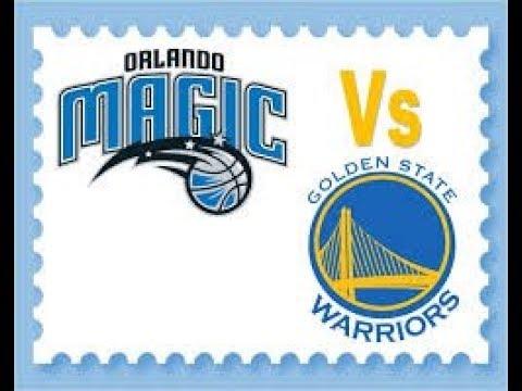 Orlando Magic Vs Golden State Warriors Live Stream - YouTube