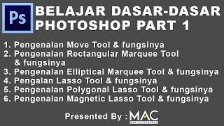 Tutorial photoshop pemula sampai mahir (Part 1)