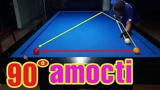 Học đánh bida cơ bản - Gom bida với kỹ thuật Amocti