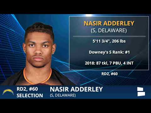 Nasir Adderly Selected By Chargers With Pick #60 In 2nd Round of 2019 NFL Draft - Grade & Analysis