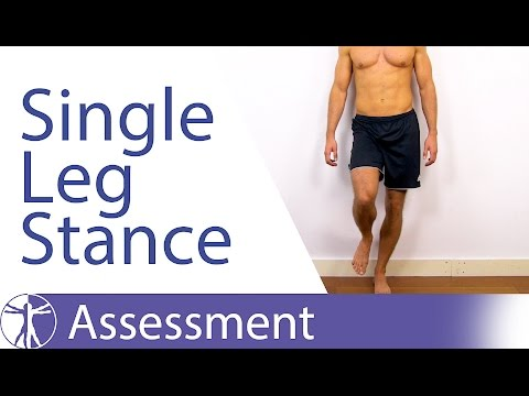 What Single Leg Stance Assessment can tell you