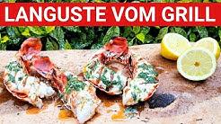 ♨️ GRILLBLITZ: Languste perfekt vom Grill, Anleitung Hummer, Lobster, Garnelen grillen, Gasgrill