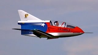 Giant RC Turbine Jet Bede BD-5 J from GB Models Ws 3,46m Scale 1:1,5 , JetPower Messe 2014 *HD*