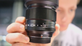 5 REASONS why you need the FUJIFILM 56mm f1.2