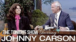 Sophia Loren Talks Growing Up In War, Acting, And Her Success - Carson Tonight Show - 02/27/1979